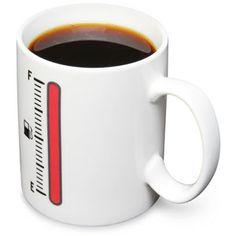 ThinkGeek :: Tank-Up Coffee Mug