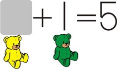 Teddy Bear Math - includes a number line to reinforce developing number sense.