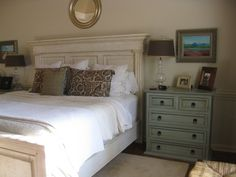 pottery barn bedrooms - Bing Images  love the color of the dresser