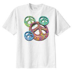 Groovy Peace New T Shirt, s m l xl 2x 3x 4x 5x, Hippie, Boho Coolness #Zibbet