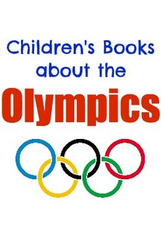 Books about the Olympics for children - great suggestions!