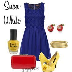 dress, white outfits, disney, wear, snow white