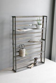 industrial shelf  / display box.