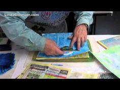 3 Gel Printing Tips Linda Germain gelliprint, gelli plate