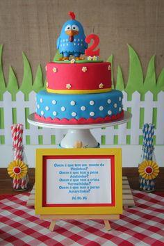 Cake Bolo Galinha Pintadinha