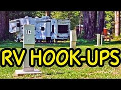 VERY INFORMATIVE video about how to hook up your RV - GREAT for newbies like me:)