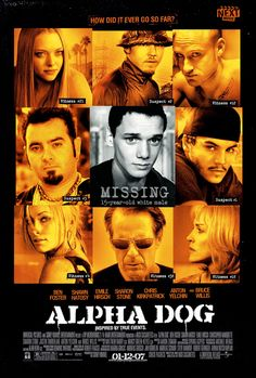 Chris Kirkpatrick in Alpha Dog #NSYNC members in Justin Timberlake movies: http://www.nextmovie.com/blog/justin-timberlake-n-sync-posters/