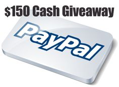 $150 Cash Giveaway from SweetGiveaways.com!