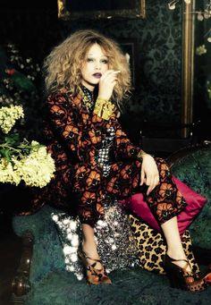Ellen von Unwerth / Vogue Italia November 2012.