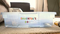 Build STEM Skills at Home: Make an Inventor's Box | eHow Mom