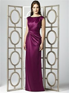 Dessy Collection Style 2854    #purple #bridesmaid #dress
