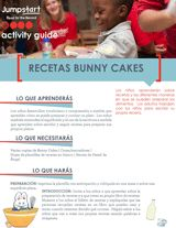 Recetas Bunny Cakes | Read for the Record | Early Reading Activity - TeacherVision.com