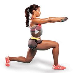 Reverse lunge combo