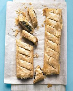 Spinach Phyllo Pie.
