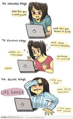 Fangirl Stages ... So accurate ;) right?