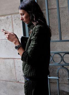 la modella mafia Gèraldine saglio fashion editor at Vogue Paris street style 3