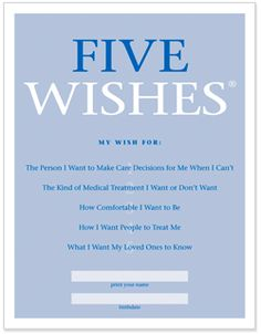Five Wishes socialwork
