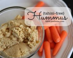 Tahini Free Hummus.