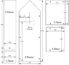 Free Bird House Plan # 10