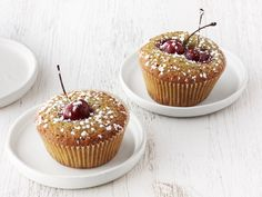 Cherry-Pistachio Tea Cakes (Food Network)