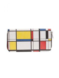 #bag #hold-all #retro #vintage #woman #accessory #vallet #cuzdan #destijl #bauhaus #modernart