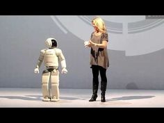 ASIMO (アシモ, ashimo) is a humanoid robot created by Honda. Standing at 130 centimeters (4 feet 3 inches) and weighing 54 kilograms (114 pounds), the robot resembles a small astronaut wearing a backpack and can walk or run on two feet at speeds up to 6 km/h (4.3 mph), matching EMIEW.