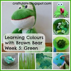 This is the fifth in my series about Learning Colours, based on the animals in the book Brown Bear, Brown Bear What Do You See?
