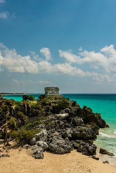 Mayan Temple of the Wind, Tulum, Mexico