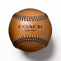 Father's Day gift ideas: The Baseball Heritage Collection at Coach....would be nice to get this