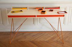 Subduction Desk by Paul Venaille Photo