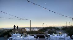 Beach wedding at the Dunes House, Palmetto Dunes, Hilton Head Island, October 2014