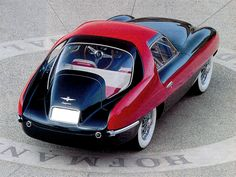 1953 Pegaso Z102B Thrill ..... check out the size of that steering wheel