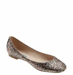 Flats. Sparkly ones. :)