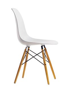 Eames Plastic Side Chair DSW by Charles & Ray Eames