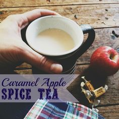 "A Recipe For a Cozy Fall Treat For a Bit of ""Me Time"": Caramel Apple Spice Tea. #spon"