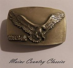 Vintage MATCO TOOLS SOARING EAGLE BELT BUCKLE The Great American Buckle Co. | eBay