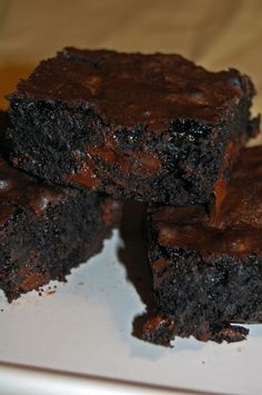 Ultimate Chocolate Brownies - Ultimately Done #chocolate #desserts