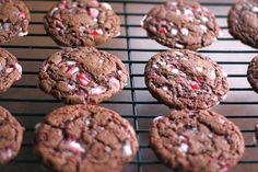 Chocolate Peppermint Crunch Cookies | Two Peas & Their Pod