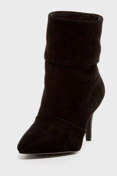Charles David Violet High Heel Boot