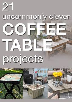 21 fantastic coffee tables you will want for your home!