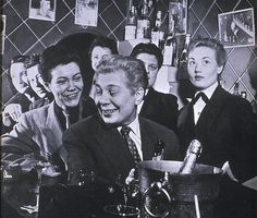 at the bar at chez moune nightclub 1963