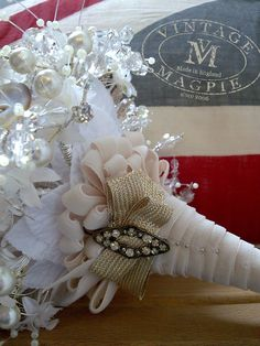 Vintage Magpie Heirloom Bridal Bouquets