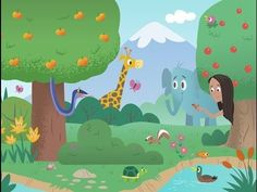 Available for free download on the App store,Google Playand Amazon, the Bible App for Kids brings the Bible to life.