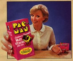 Pac-Man Chidren's Chewable Multi Vitamin Plus Iron
