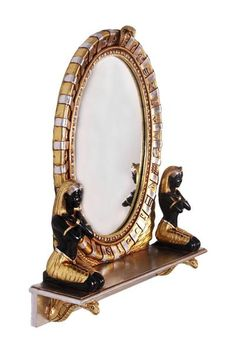 Cleopatra's Egyptian Vanity Mirror for Sale - The Ancient Home