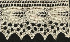 Apple Leaf Lace - KnitWiki