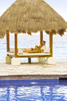 Enjoy the Royal Treatment at Paradisus Cancun that leaves you feeling pampered, relaxed and ultimately happy #honeymoon