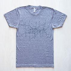 London I Unisex T-Shirt Gray