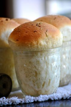 Fancy Dinner Rolls in a Jar Recipe