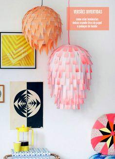 DIY paper lanterns #decor #DIY